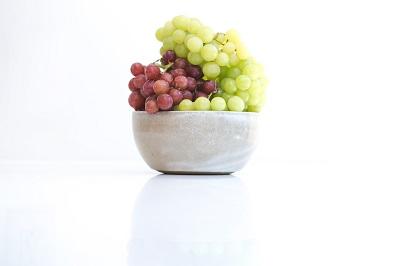 agua con uva